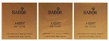 Babor Hsr De Luxe Ultimate Anti Aging Cream 3 Samples Brand New