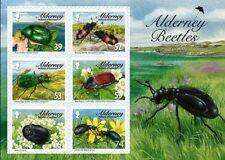 Alderney Aurigny 2013 insectes scarabées bloc neuf ** 1er choix