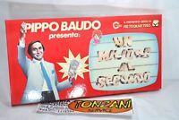 Pippo Baudo presenta: UN MILIONE AL SECONDO, gioco da tavola, Mondadori giochi