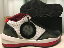 Air Jordan 2010, Black Varsity Red White, Size 8, Brand New