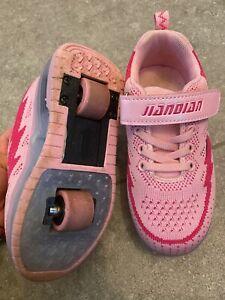 Rollschuh Kinder Turnschuh mit Rollen 30 pink Rollers Mädchen