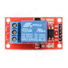 Module de relais 24V (dc,ac) 1 canal Pour Arduino ou utilisation perso Neuf