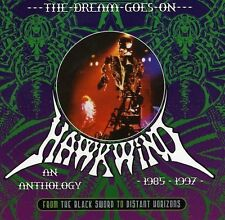 Hawkwind-the Dream Goes On 1985-1997 Box-Set 3cd NUOVO