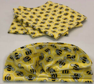 Bees Cloth Napkins (Set of 4)