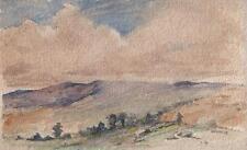 LANDSCAPE IMPRESSIONIST Watercolour Painting MARCUS ADAMS c1930