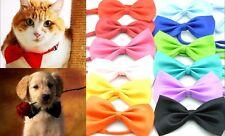 100X New Fashion Dog Puppy Cat Kitten Pet Toy Kid Bow Tie Necktie Collar Clothes