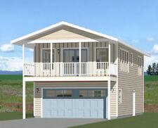 20x40 House -- 1 Bedroom 1.5 Bath -- 965 sq ft -- PDF Floor Plan -- Model 7J
