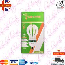 Cool daylight Energy Saver Light bulb Lamp Flower Shape 85Watt 6500K CFL B22