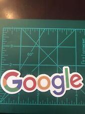 Google Logo Sticker Decal Car Window Skateboard Phone (T)