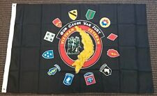 Black Vietnam Veteran Our Cause Was Just Polyester 3x5 Foot Flag Military Vet