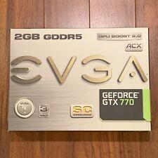 EVGA NVIDIA GeForce GTX 770 SC (02G-P4-2774-KR) 2GB GDDR5 Graphics Card