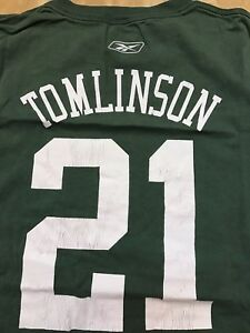 La Danian Tomlinson New York Jets VINTAGE Reebok Met Life Stadium NFL Shirt