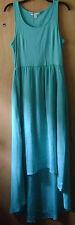 Women's LC Lauren Conrad Green/BlueTank Top Multi-Length Long Casual Dress M