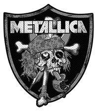 METALLICA - Patch Aufnäher - Raiders skull cut out 10x11cm