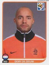 N°344 DEMY DE ZEEUW # NETHERLANDS STICKER PANINI WORLD CUP SOUTH AFRICA 2010