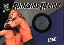 WWE Edge 2007 Topps Action Event Worn T-Shirt Ringside Relic Card