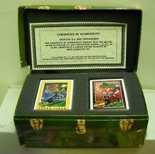 #1098 GI Joe Cardboard Footlocker with Trading Cards