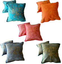 40 Handmade Embroidered Elephant Sequin Work Pillow Cushion Covers Wholesale Lot