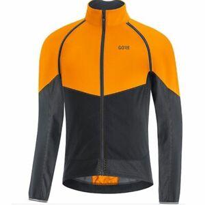 New GORE Gore-Tex Infinium Phantom Jacket Men's XXL Bright Orange / Black NWT