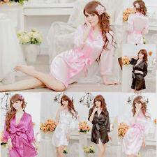 Satin Kimono Nightwear Robes for Women