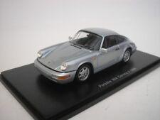 1 43 Spark Porsche 911 (964) Carrera 4 Coupe 1989 silver