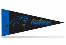 """New NFL Carolina Panthers Mini Pennant  9""""x4"""" (22 x 9 1/2 cm) Made in USA Banner"""