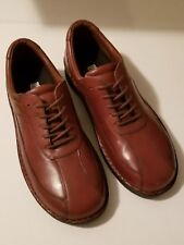Drew For Men Brown Leather Comfort Shoes Size 14M