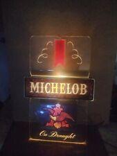 Vintage Michelob beer lighted advertising display sign.