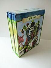 New listing Shrek: The Whole Story 2010 Blu-ray 4 Disc Box Set Euc Movie Cartoon Humor