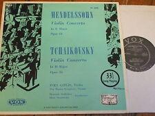 PL 8840 Mendelssohn / Tchaikovsky Violin Concertos / Gitlis