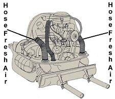 VW Vintage Parts Hose, Fresh Air Heater,2