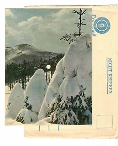 Colorvox Leise rieselt der Schnee Kinderchor Berliner Rundfunk Schallbildkarte !