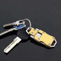 Stainless Steel Outdoor Mini Folding Knife Pocket EDC Keychain Survival Tool G