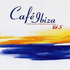 CAFE IBIZA 5 = Aim/Bliss/I:Cube/Cantoma/Waldeck...=2CD= DOWNTEMPO AMBIENT CHILL