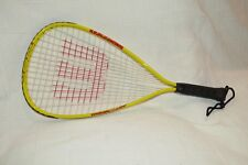 "Wilson Racquetball Racquet Hyper Alloy 3"" Grip Power Stealth Strength Turbo Tube"