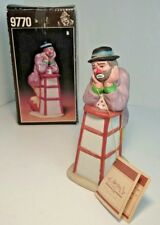 """Vintage Collectable Emmett Kelly Jr ©1984 Signature Collection #9770B, 5.5""""- New"""