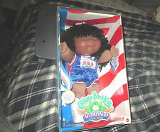 1996 Black Cabbage Patch Olymikids Special Edition Track& Field Doll Rianna Lina
