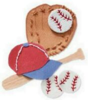 BASEBALL Ball Sport - Jolee's By You Scrapbook Craft Sticker