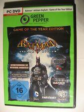 Batman, Arkham Asylum, Game of the Year Edition, Green Pepper