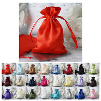 "12PCS Satin Gift Bag Drawstring Pouch Wedding Favors Jewelry Gift Bags - 4""x 6"""