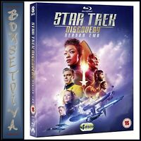 STAR TREK DISCOVERY COMPLETE SEASON 2  BRAND NEW BLURAY REGION FREE **