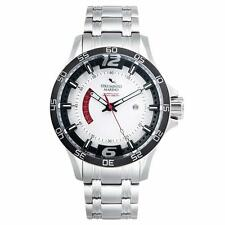Strumento Marino SM116MB/SS/BN Men's Hurricane White Dial Steel Bracelet Watch