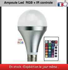 Led Ampoule RGB + IR control 20 Watt culot E27