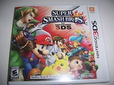 Replacement Case (NO GAME) Super Smash Bros 3DS Box & Instructions Only