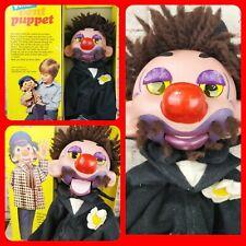Boxed Pelham Vent VENTRILOQUIST Puppet V9 TRAMP Vintage Toy Puppets Dummy