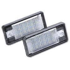 2PCS Car Error 18 LED License Number Plate Light Lamp for Audi A3 S3 A4 A6 A8 Q7