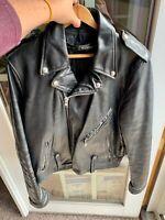 Vintage 70's AMF Harley Davidson 42 Tall Cruiser Leather Jacket