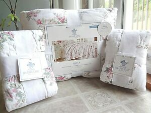 Simply Shabby Chic Blooming Blossoms (KING) Quilt + Euro Shams - Free Shipping
