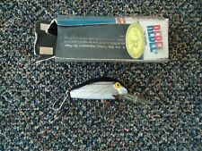 """Vintage Rebel Super R Fishing Lure With Box """" GREAT COLLECTIBLE LURE """""""
