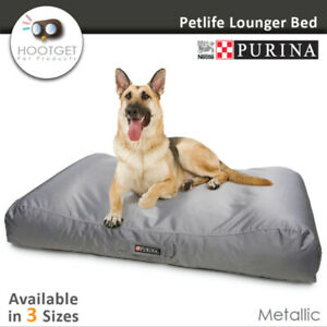 Petlife Lounger Metallic - Heavy Duty Waterproof Pet Puppy Dog  Mattress Bed Mat
